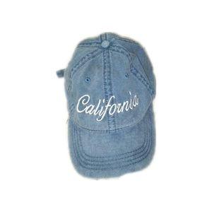 Otto California adjustable strap denim hat